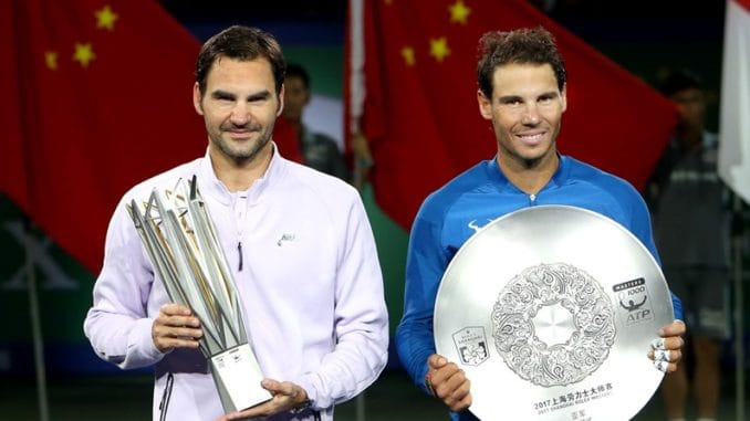 Roger Federer & Rafael Nadal's rivalry in 2017