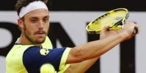 Marco Cecchinato was let off