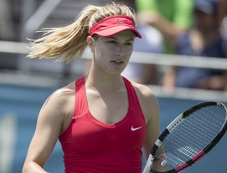 Eugenie Bouchard Won Her Opening Round Match