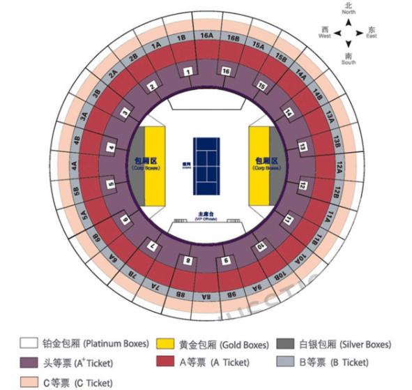 Shanghai Masters Tickets Information