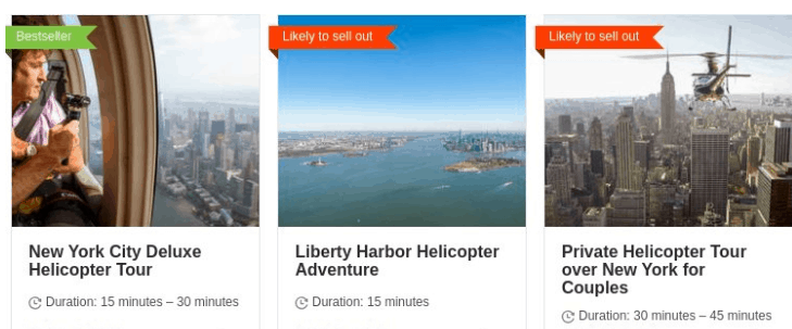 Helicopter Riders over New York