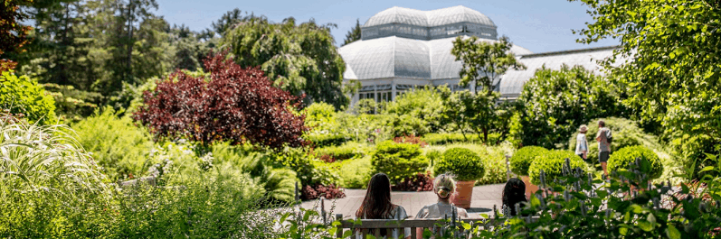 Visit the New York Botanical Gardens during the US Open
