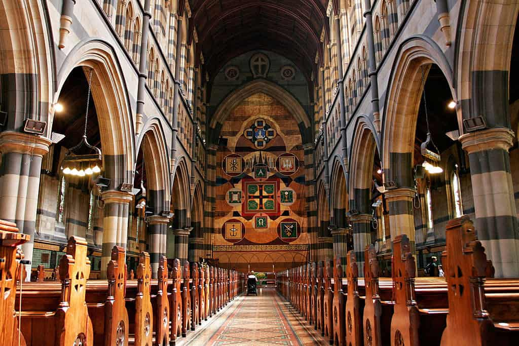 Visit St. Paul's Cathedral Melbourne during the Australian Open