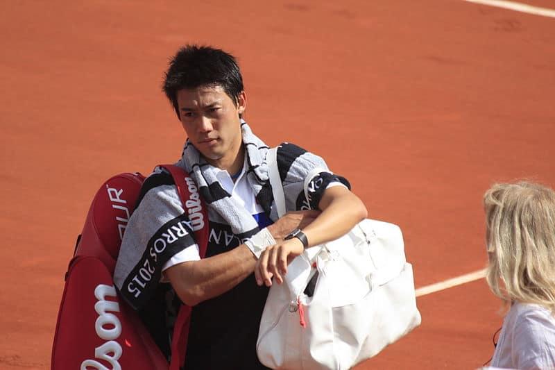 Kei Nishikori will take on Roger Federer in Shanghai