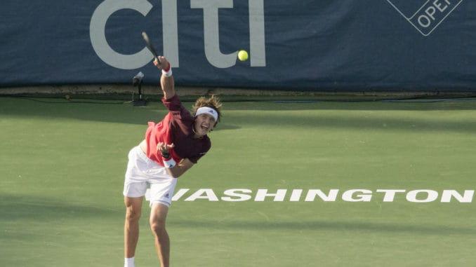 Alexander Zverev v Diego Schwartzman live streaming at the US Open