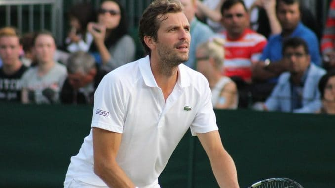 Julien Benneteau Played in the Davis Cup Semi-Final