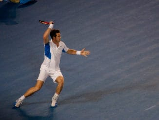 Murray won his opener at the Battle of the Brits