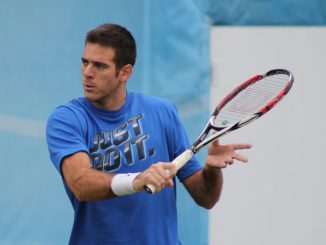 Del Potro Returns to Training, Aiming for Return