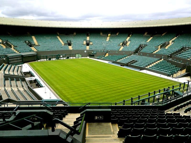 Get close to the action at Wimbledon