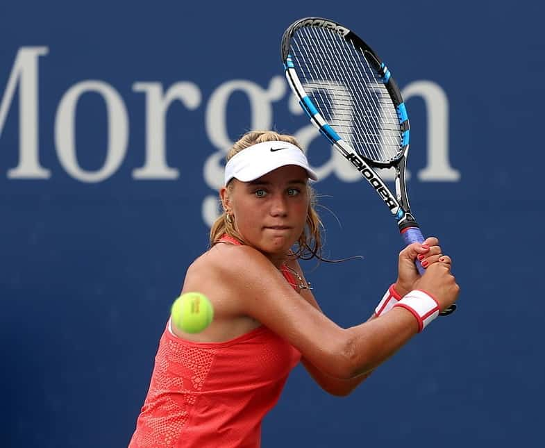 Sofia Kenin will be a player to watch out