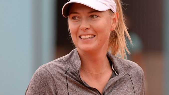 Maria Sharapova has been involved in the Hindrance Rule in the past