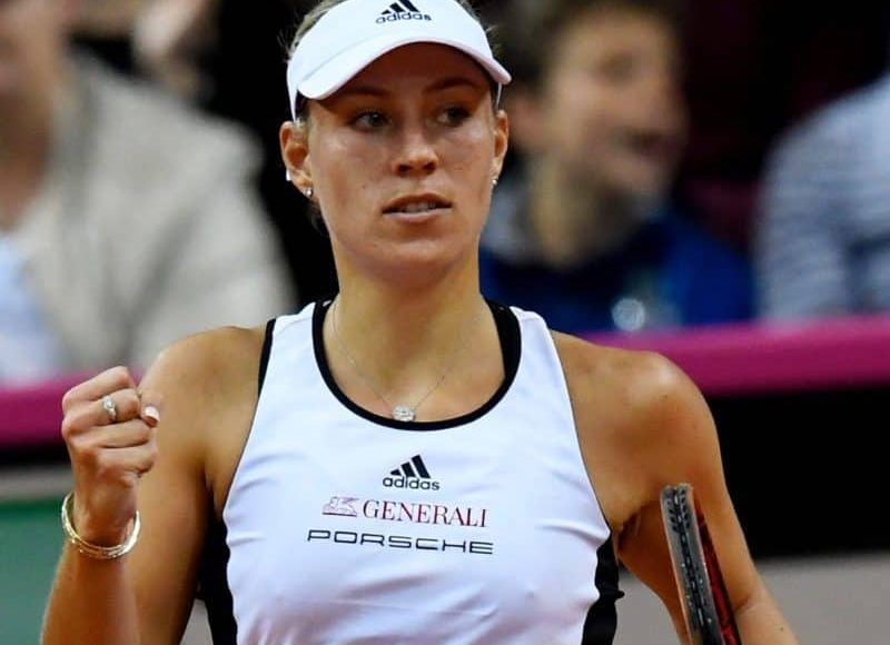 Kerber won two Grand Slams later in her career