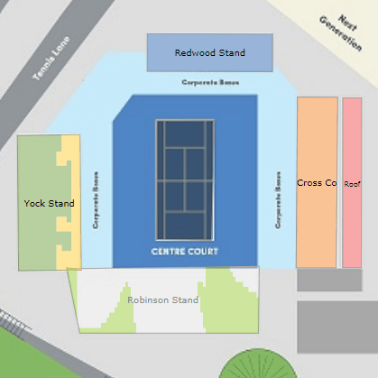Auckland Open Stadium Map