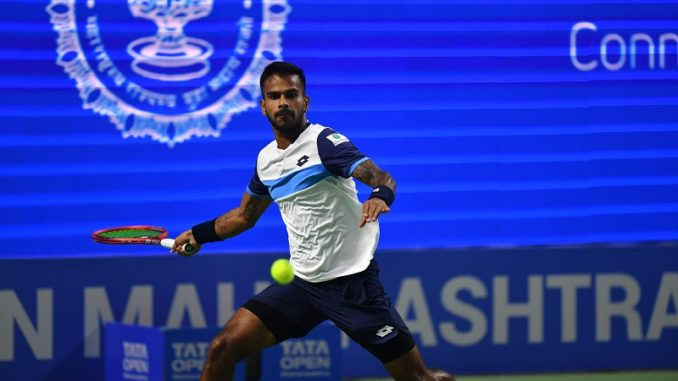 Pune Open continued on Tuesday