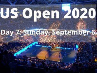 US Open 2020 Schedule for September 6